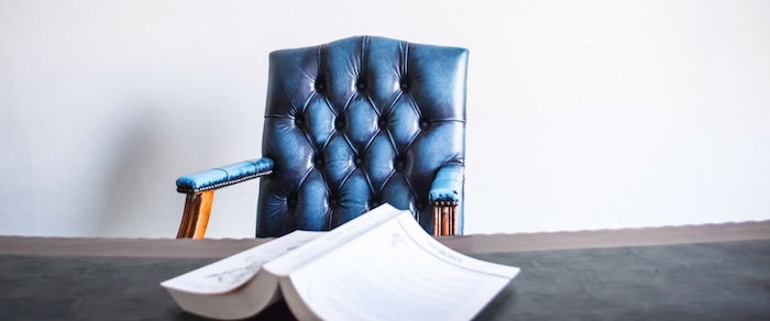 Blue-Diamond-Buttoned-leather-upholstered-office-chair